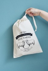PROJECT BAG - STEPHEN & PENELOPE SHEEP CREAM