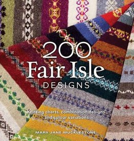 Search Press 200 FAIR ISLE DESIGNS by MARY JANE MUCKLESTONE