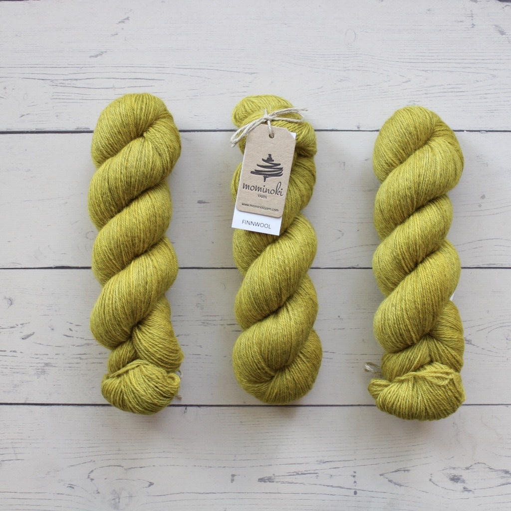 Mominoki Yarn FINNWOOL - CURRY
