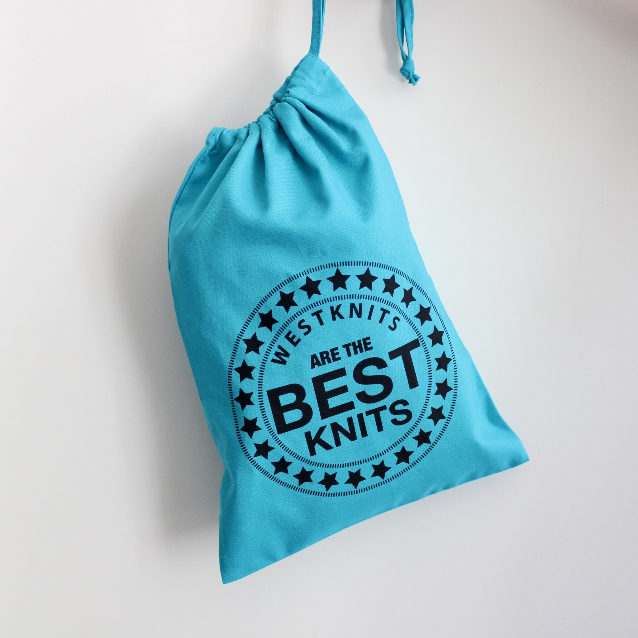 Westknits PROJECT BAG - WESTKNITS BESTKNITS TEAL