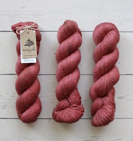Mominoki Yarn RAMIE SILK - CARMINE RED