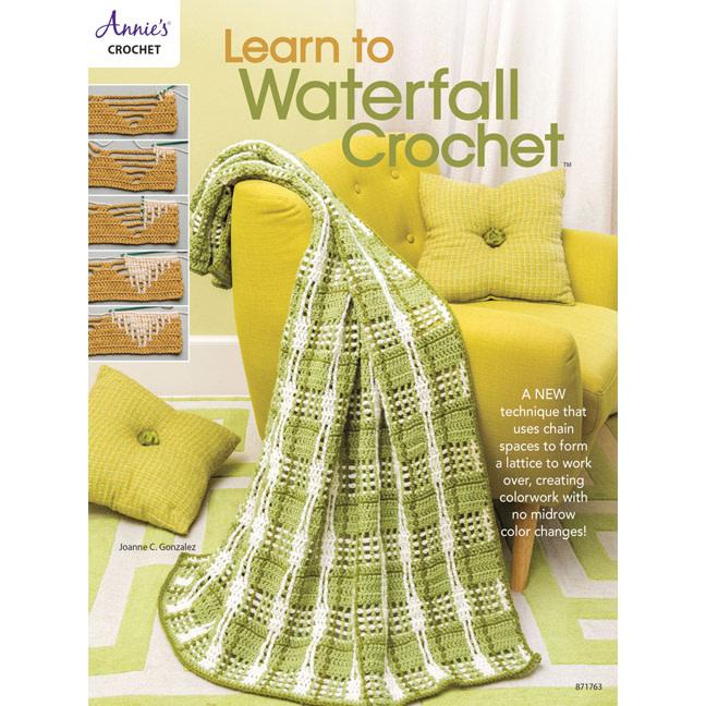 LEARN TO WATERFALL CROCHET by JOANNE C. GONZALEZ