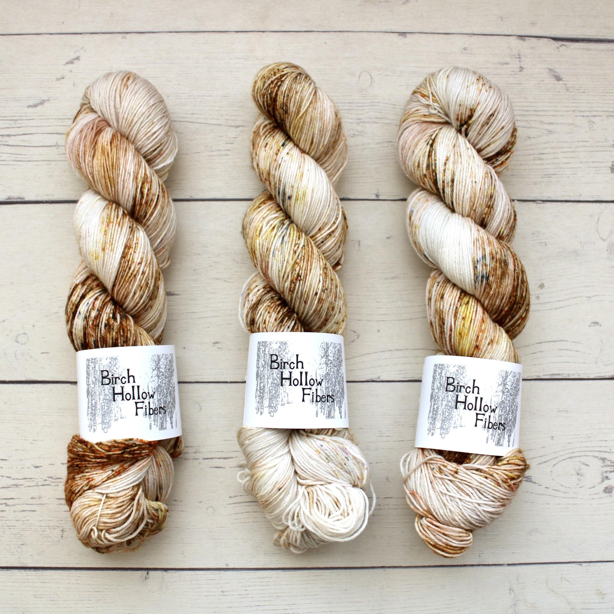 Birch Hollow Fibers SYLVIA SOCK - THORNWOOD