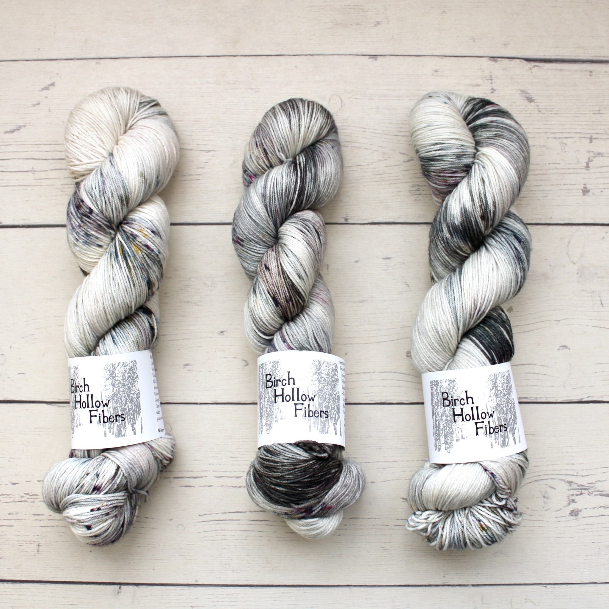 Birch Hollow Fibers SYLVIA SOCK - WINTER