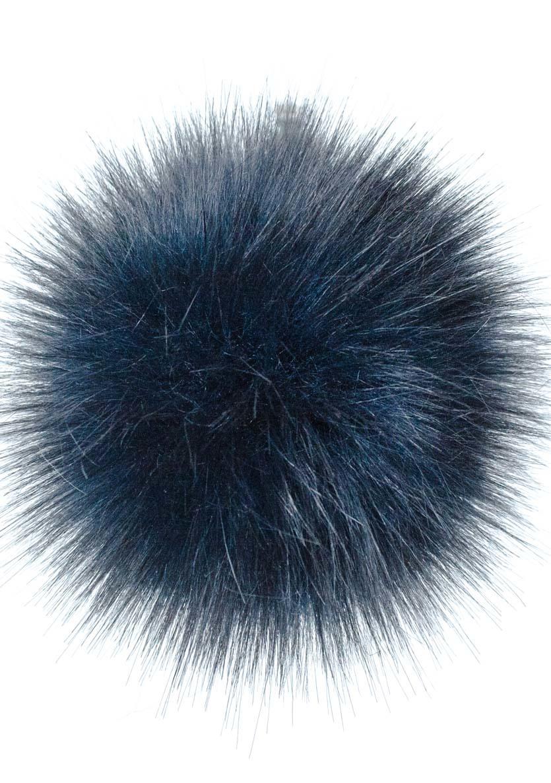 "LovaFur ""FOX"" VEGAN POM POM - DARK BLUE"