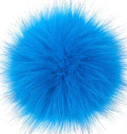 "LovaFur ""FOX"" VEGAN POM POM - OCEAN BLUE"