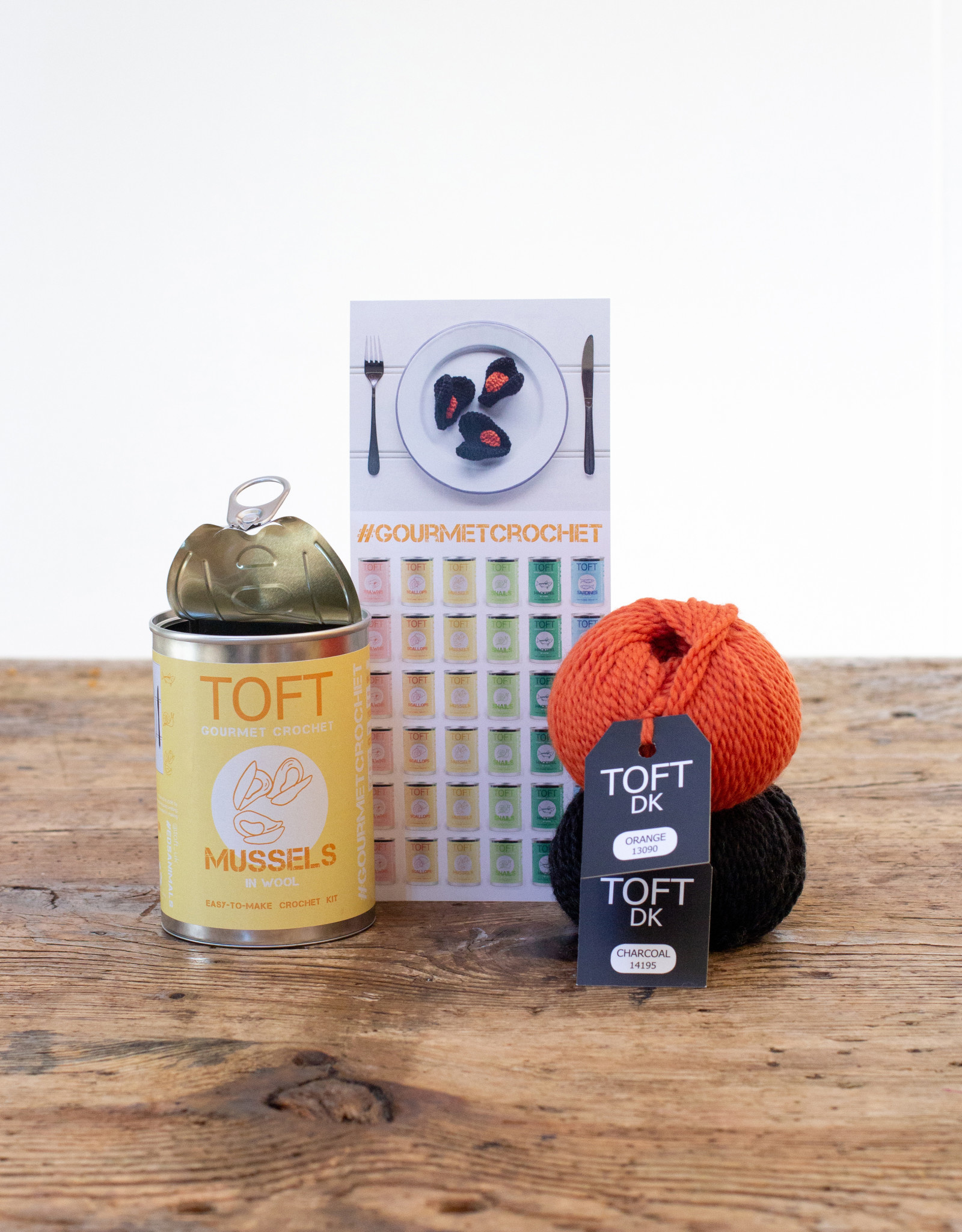 TOFT MUSSELS IN A TIN KIT - ENGLISH