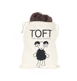 TOFT PURE WOOL TOY STUFFING - DARK