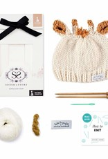 Stitch & Story SOPHIE LA GIRAFE: SOPHIE'S HAT KNITTING KIT