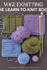 VOGUE KNITTING: THE LEARN TO KNIT BOOK