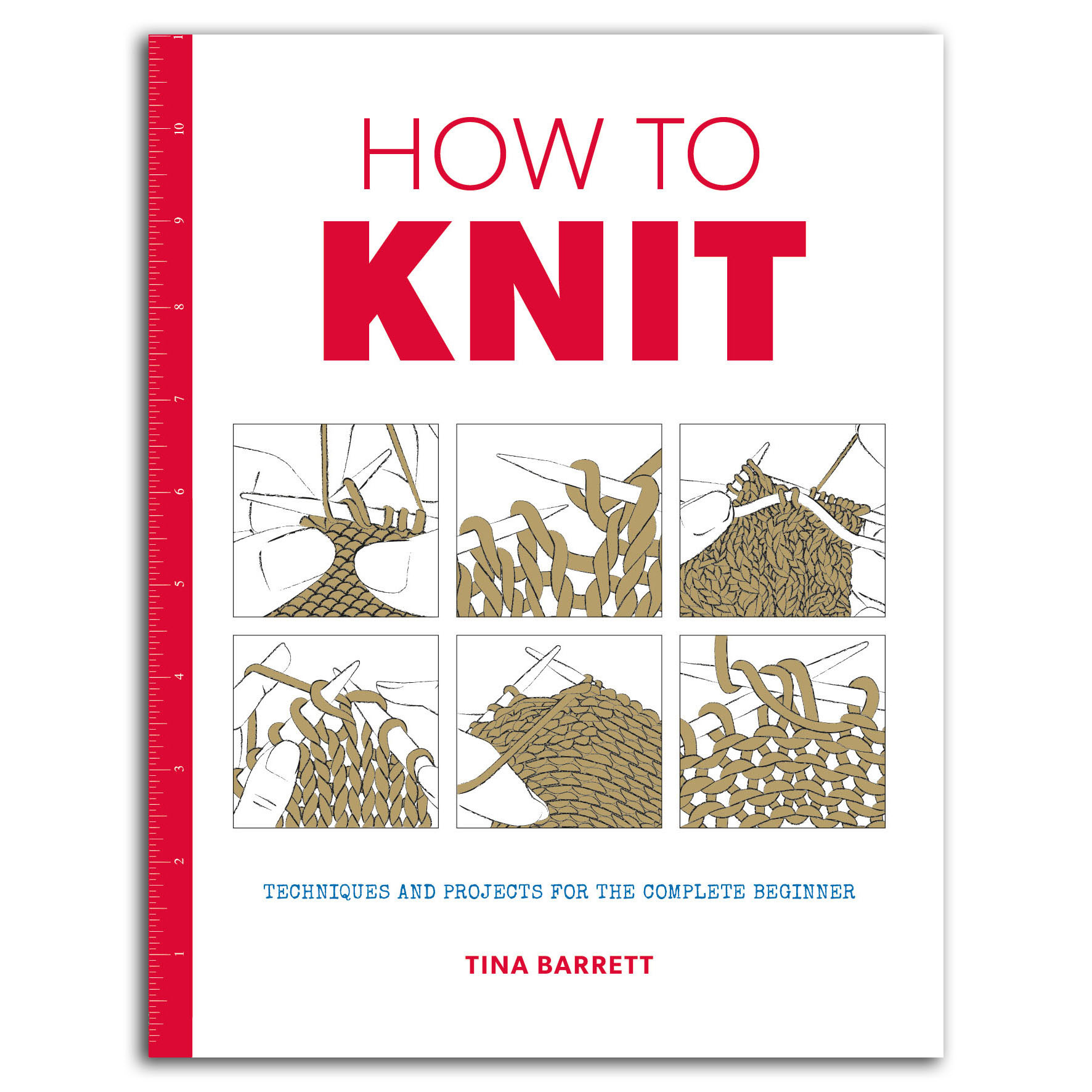HOW TO KNIT by TINA BARRETT (large format)