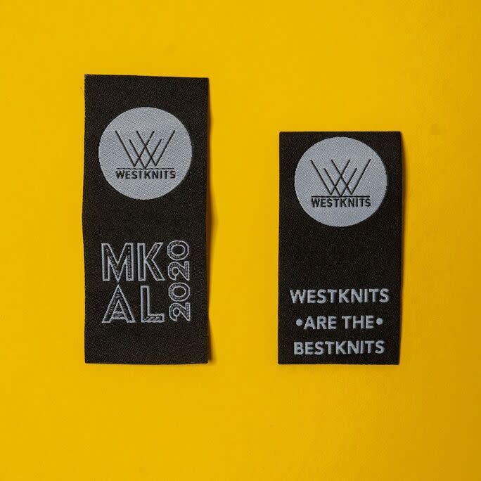 Westknits WESTKNITS ARE THE BESTKNITS & MKAL SEW-ON TAG SETS