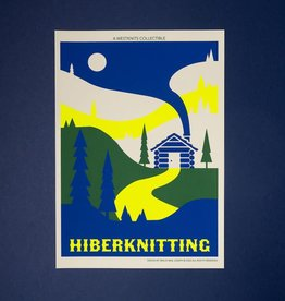 Westknits HIBERKNITTING SCREEN PRINT