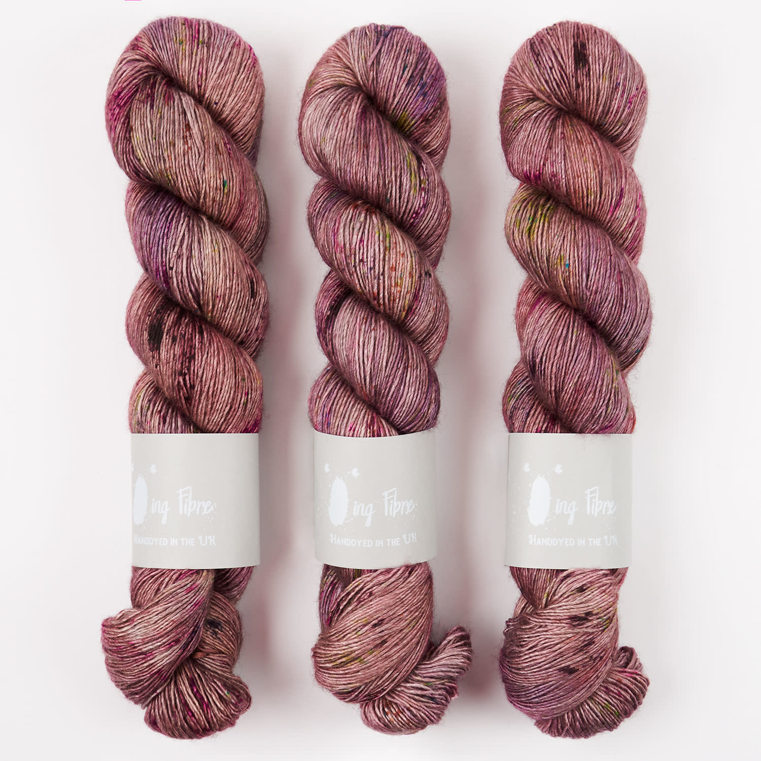 Qing Fibre YAK SILK - ANTIQUE ROSE