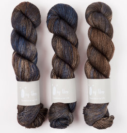 Qing Fibre YAK SILK - BLUE FINCH