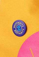 Westknits BLUE WESTKNITS ARE THE BEST KNITS ENAMEL PIN