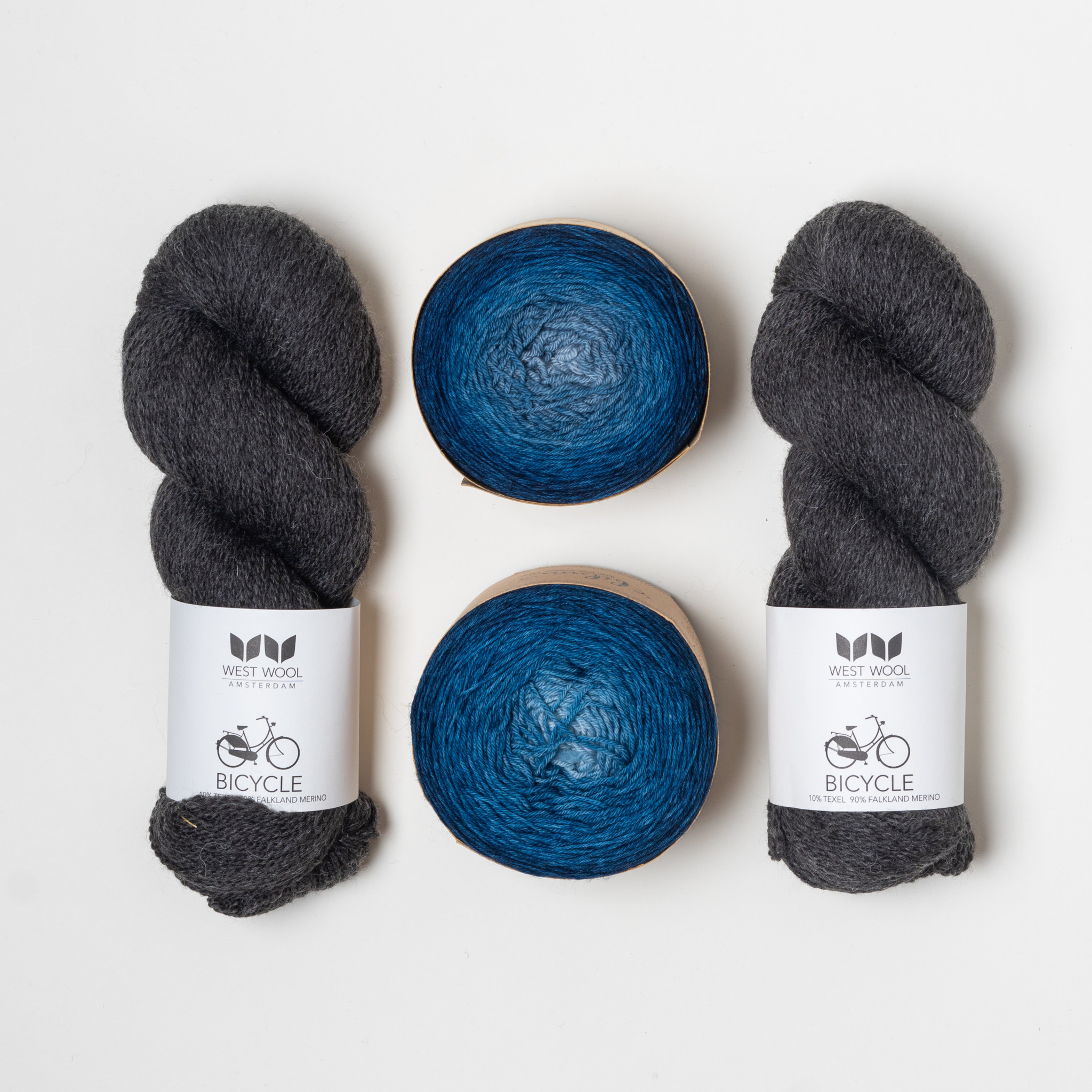 Westknits SELF STRIPE DUO - KIT B6
