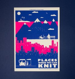 Westknits PLACES WHERE YOU CAN KNIT SCREEN PRINT - MINI