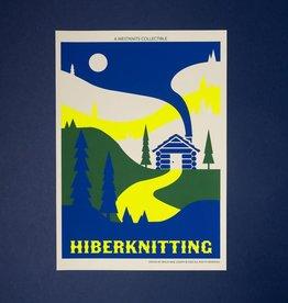 Westknits HIBERKNITTING SCREEN PRINT - MINI