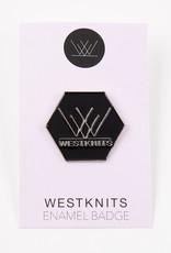 Westknits WESTKNITS LOGO ENAMEL PIN