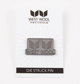 WEST WOOL ENAMEL PIN