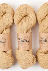 Tíntica MERINO FINGERING SOCK - CAPUCCINO