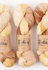 Tíntica MERINO FINGERING SOCK - RUSTIC JOY