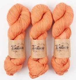 Tíntica MERINO FINGERING SOCK - SALMON