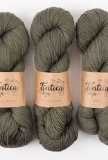 Tíntica MERINO FINGERING SOCK - SHADOWS IN THE WOODS