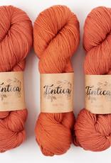 Tíntica MERINO FINGERING SOCK - TERRACOTA
