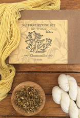 Tíntica NATURAL DYEING KIT - CHAMOMILE