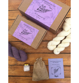 Tíntica NATURAL DYEING KIT - LOGWOOD