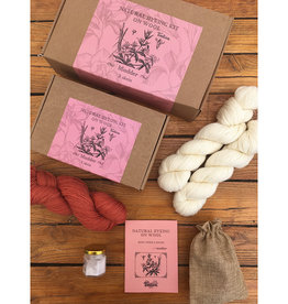 Tíntica NATURAL DYEING KIT - MADDER