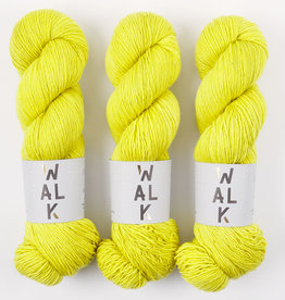 WALK collection COTTAGE MERINO - CHARTREUSE
