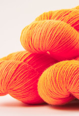 WALK collection COTTAGE MERINO - ORANGE PUNCH