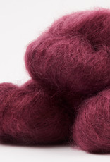 WALK collection KID MOHAIR LACE - CLARET