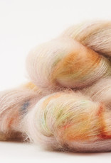 WALK collection KID MOHAIR LACE - CREAM CHERRY BRITTLE