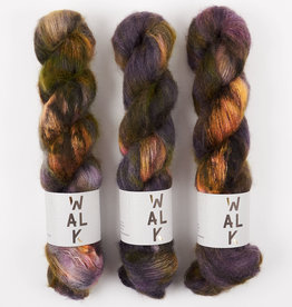 WALK collection KID MOHAIR LACE - EMBERS