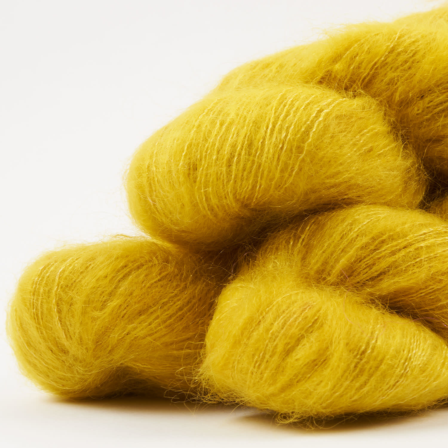 WALK collection KID MOHAIR LACE - GOLDENROD