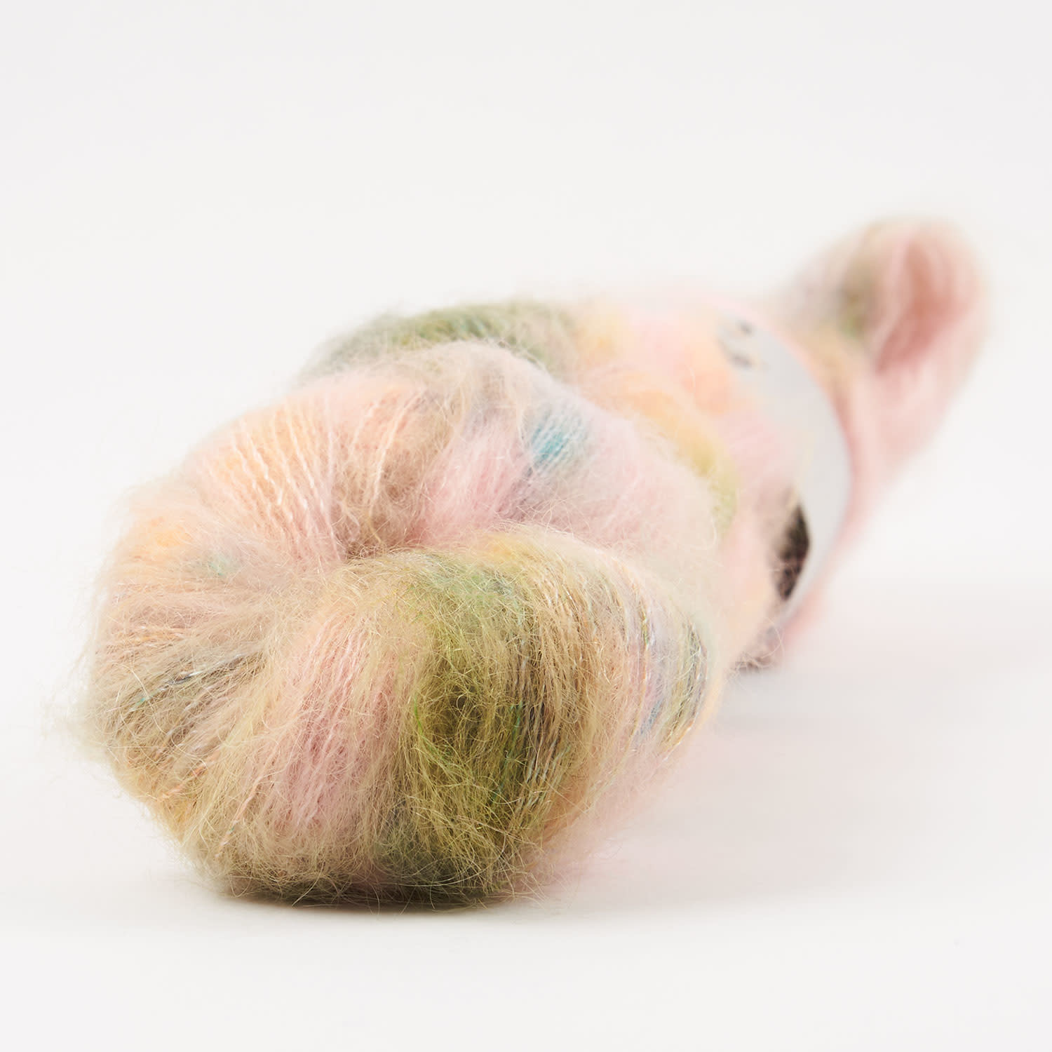 WALK collection KID MOHAIR LACE - GRUNGE PEACH