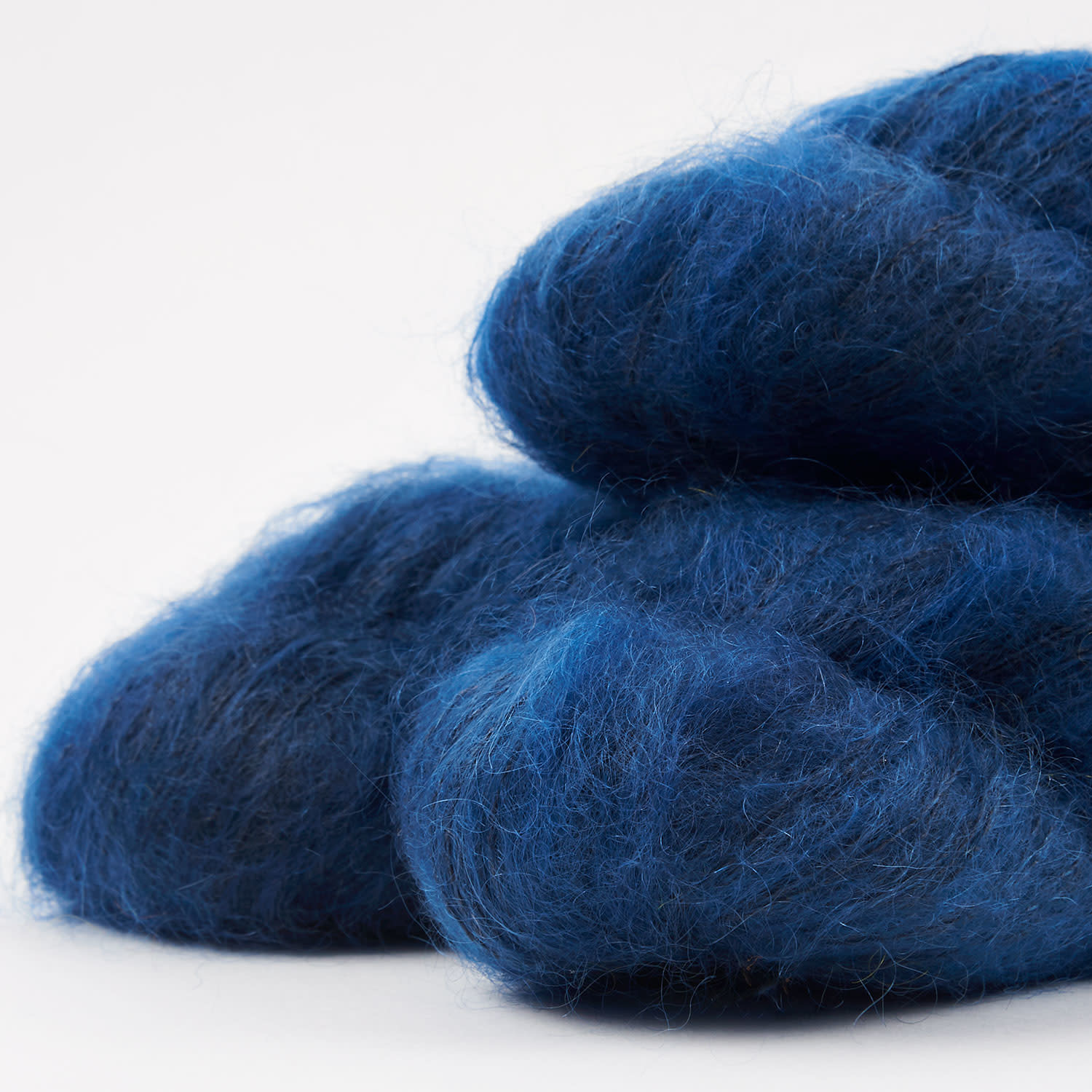 WALK collection KID MOHAIR LACE - MARINE