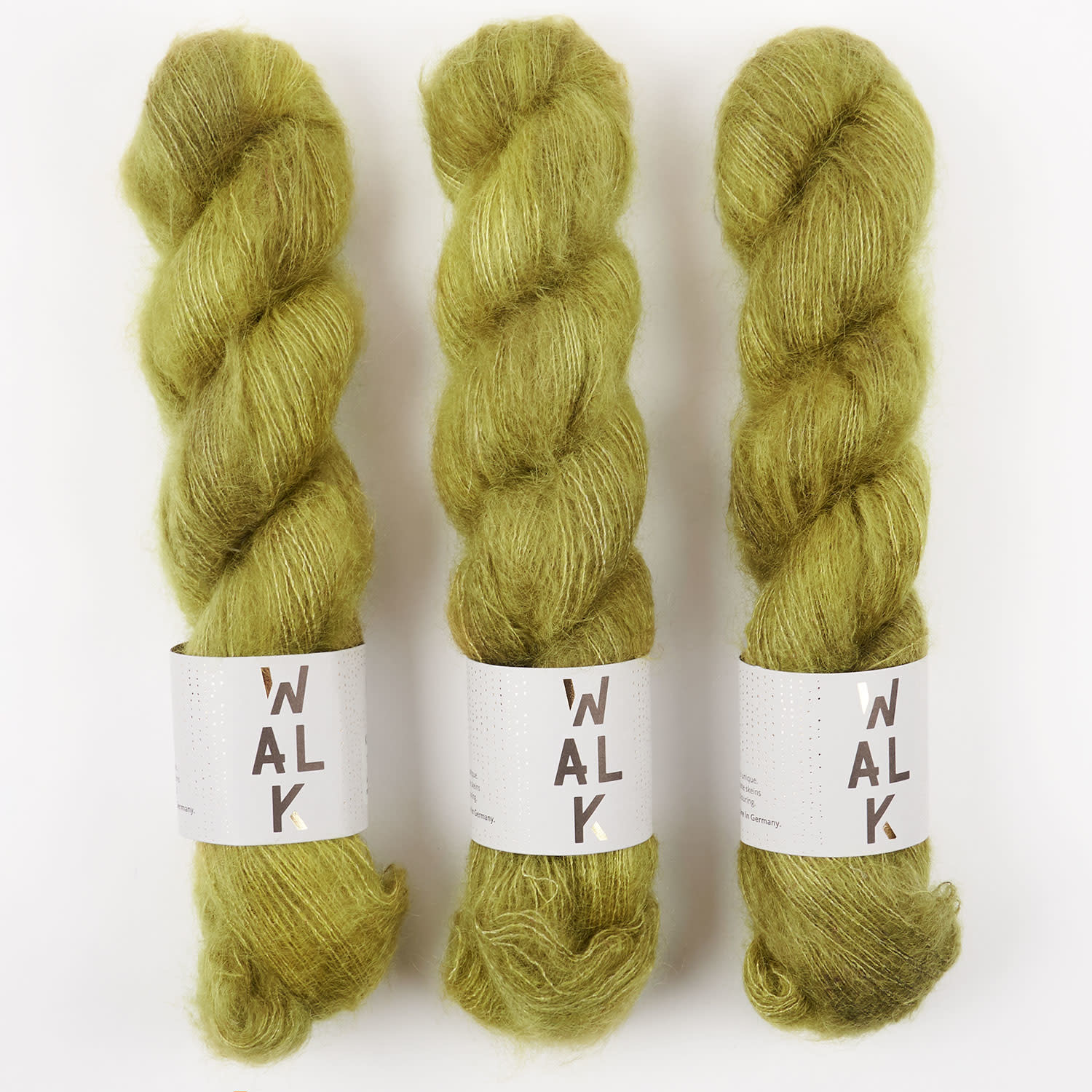 WALK collection KID MOHAIR LACE - MOOR