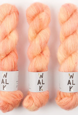 WALK collection KID MOHAIR LACE - SALMON