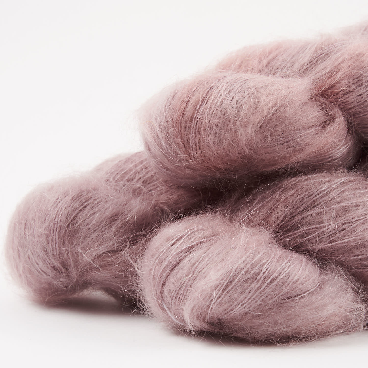 WALK collection KID MOHAIR LACE - SECRET