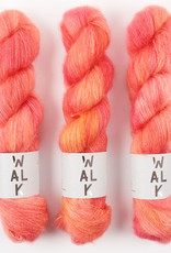 WALK collection KID MOHAIR LACE - SUMMER SORBET