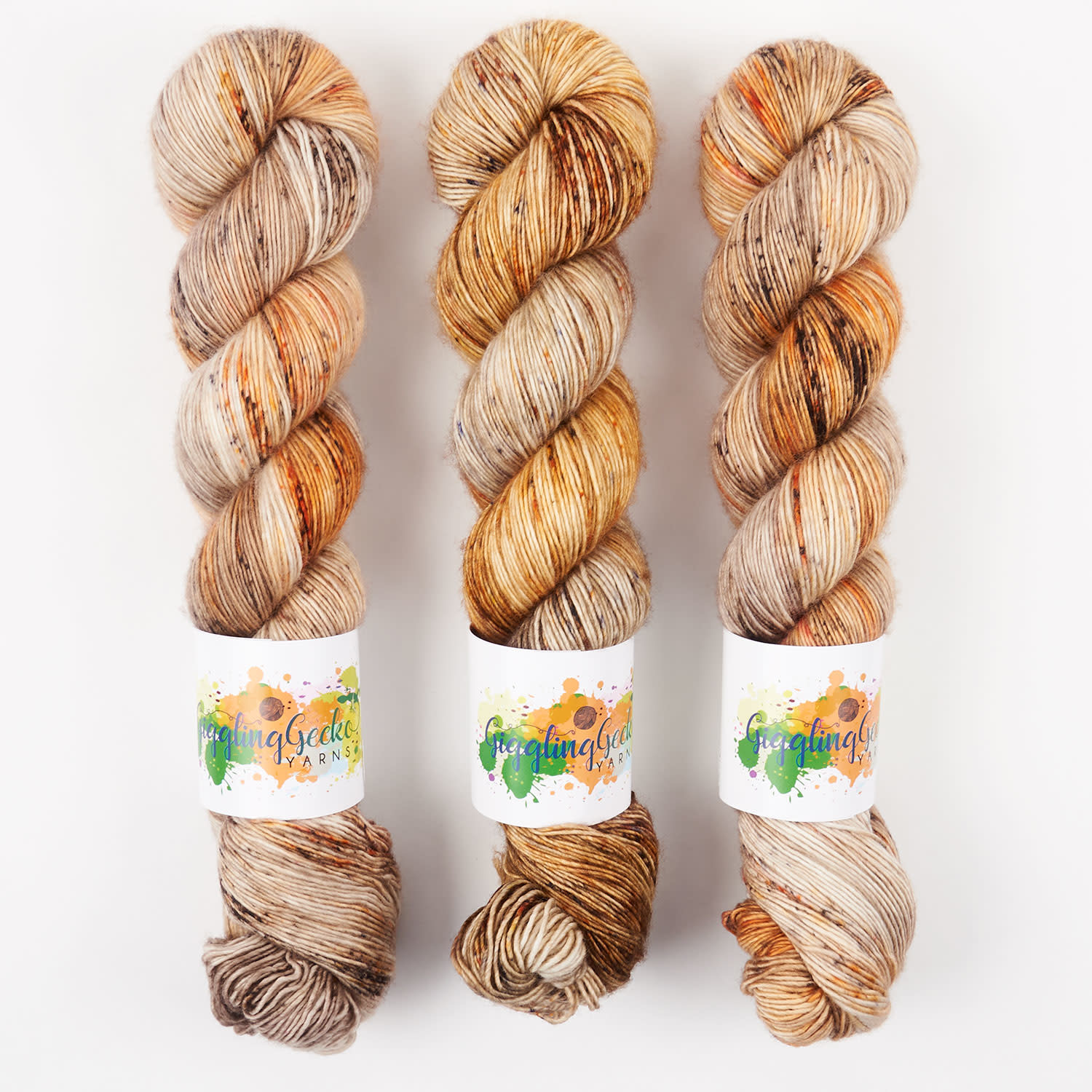 Giggling Gecko Yarns GGY - AUTUMN HARVEST