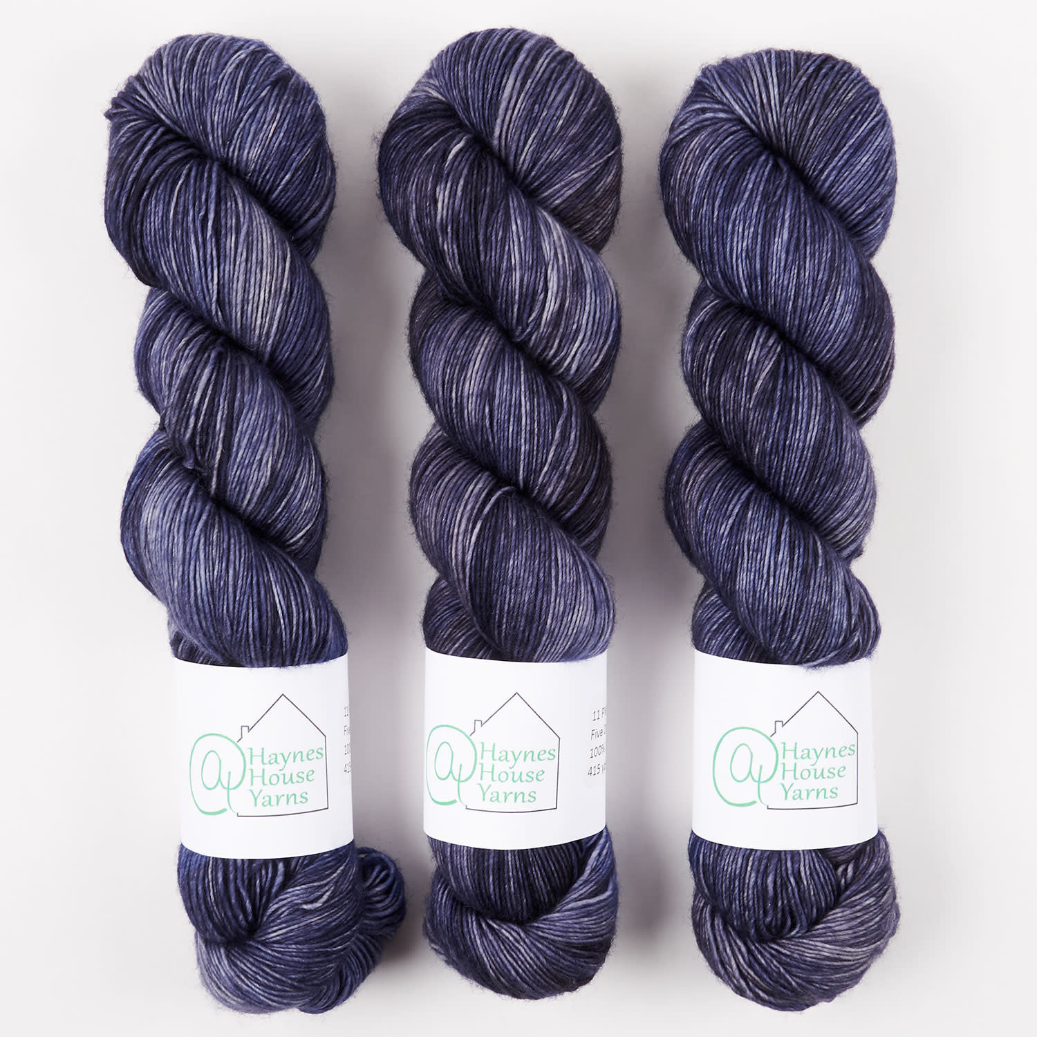 AT Haynes House Yarn RUSTIC FINGERING - ELEVEN PM WAKE-UP CALL