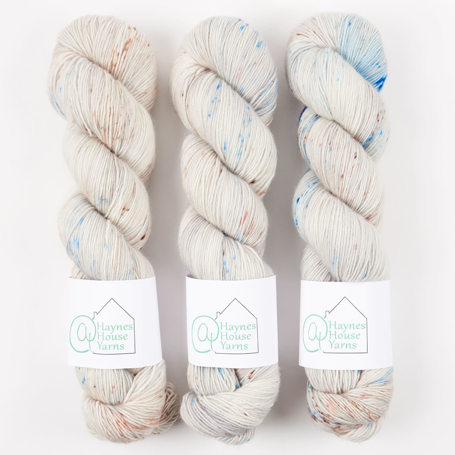 AT Haynes House Yarn RUSTIC FINGERING - FISHCAKES AND CRABCAKES