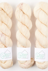 ​AT Haynes House Yarn RUSTIC FINGERING - MORE CREAM THAN COFFEE