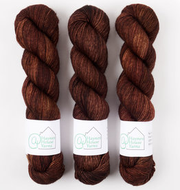 ​AT Haynes House Yarn RUSTIC FINGERING - NO FRILLS BROWN